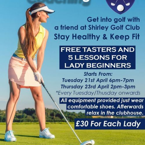Ladies Coaching for Beginners