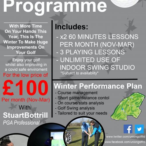 Winter Coaching Programme 2020-21